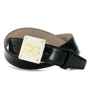 商品画像Dolce&Gabbana/ベルト BC2493 QUADRATA BICOLOR LO ブラック/100