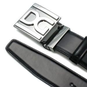 Dolce&Gabbana(ドルチェ&ガッバーナ) ベルト BC2500 QUADRATA MONOCOLO ブラック 90