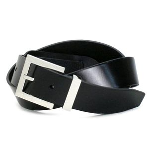 Dolce&Gabbana(ドルチェ&ガッバーナ) ベルト BC2549 CON PLACCA IN PELLE ブラック 95