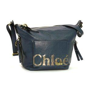 Chloe(クロエ) ショルダーバッグ 8AS524 8A849 SMALL HOBO スモーキーブルー