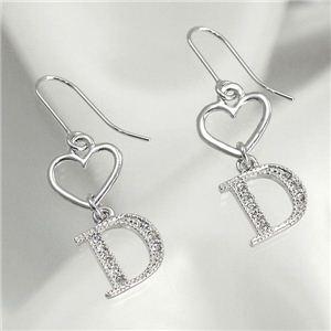 CHRISTIAN DIOR(クリスチャン ディオール) イヤリング D60189 Pierced Earrings シルバー