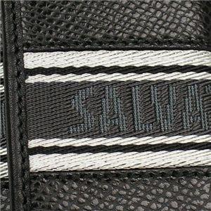 02フェラガモ/Ferragamo キーケース 668612 LOS ANGELS/ブラック