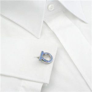 01フェラガモ/Ferragamo カフス 54 8502 GEM.CHIC ST/ブルー