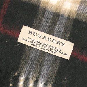 BURBERRY(バーバリー) マフラー CHECK SCARF ブラック