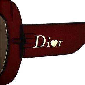 CHRISTIAN DIOR(クリスチャン ディオール) サングラス/メガネ EXTRLIGHT1 ワイン