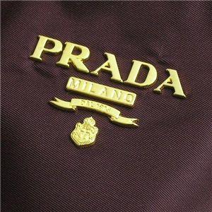 03プラダ/PRADA トートバッグ/TESSUTO BR4001/ダークパープル