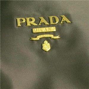 03プラダ/PRADA トートバッグ TESSUTO BR4001/グレー