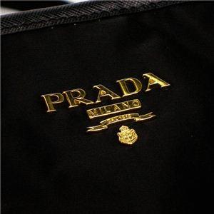 03プラダ/PRADA トートバッグ TESSUTO BR4001/ブラック
