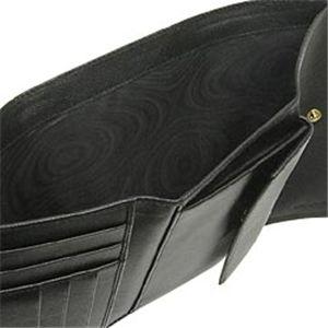 02プラダ/PRADA 二つ折り財布(小銭入れつき)/ SAFFIANO ORO 1M0510/ブラック
