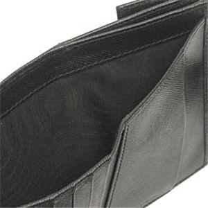 03プラダ/PRADA Wホック財布 SAFFIANO ORO 1M0523/ブラック