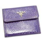 PRADA(プラダ) 三つ折り財布(小銭入れ付) VERNICE 1M0170 ライトパープル