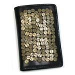 DIESEL(ディーゼル) 二つ折り財布(小銭入れ付) SCREW UP 00XM23 GALENA T8013 ブラック