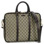 Gucci(グッチ) ブリーフケース LADIES CLUB ORIG.GG 223667 9643 9643 ベージュ/ダークブラウン