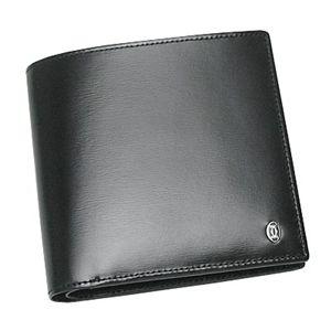 商品写真カルティエ/二つ折り財布(小銭入れ付) PASHA DE CATIER L3000137 BANKNOTE/COINS/CC/ブラック