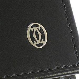 03カルティエ/Cartier 長札財布 PASHA DE CATIER L3000440/ブラック