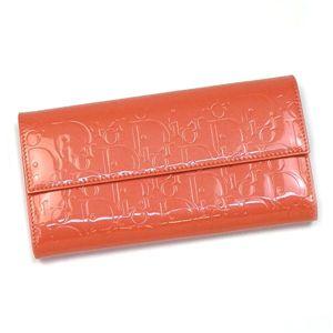 Christian Dior(クリスチャン ディオール) 長札財布 DIOR ULTIMATE S0016PEML INTEMATIONAL M262 オレンジ