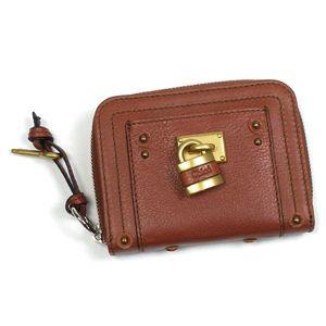 Chloe(クロエ) 二つ折り財布(小銭入れ付) PADDINGTON 7EPM09 365 ライトブラウン