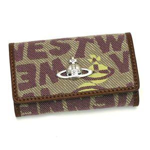 Vivienne Westwood(ヴィヴィアンウエストウッド) キーケース STONEAGE カーキ