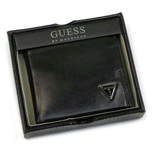 Guess(ゲス) 二つ折り財布(小銭入れ付) OBSESSION Yen Billfold w/coin ブラック