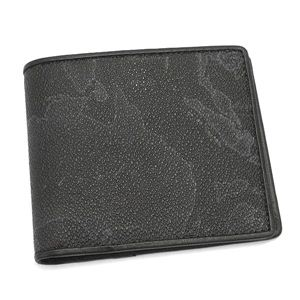 PrimaClasse(プリマクラッセ) 二つ折り財布(小銭入れ付) BP384 ブラック
