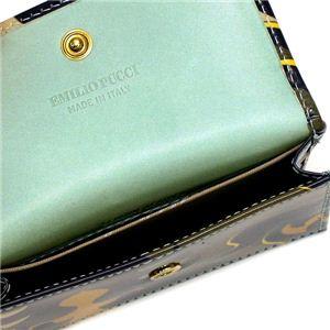 Emilio Pucci(エミリオプッチ) カードケース 97SE02 COIN PURSE 79 ブラウン