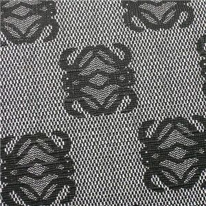 Loewe(ロエベ) Wホック財布 ANAGRAM COATED CANVA 168.80.956 1100 ブラック