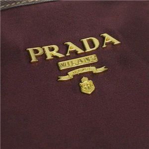 03プラダ/PRADA トートバッグ/TESSUTO BR3925 ダークパープル