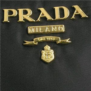 03プラダ/Prada ショルダーバッグ TESSUTO BT0693 F0002/ブラック
