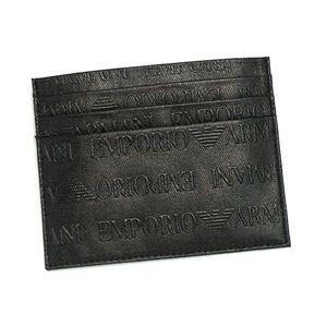 Emporio Armani(エンポリオ・アルマーニ) カードケース YCD76 YEM320 80001 ブラック
