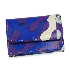 Emilio Pucci(エミリオプッチ) カードケース 01SE02 3 ブルー