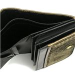 Vivienne Westwood(ヴィヴィアンウエストウッド) 二つ折り財布(小銭入れ付) NEW SLOANE 2232 ゴールド