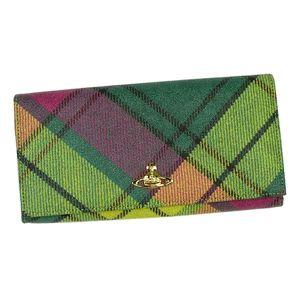 Vivienne Westwood(ヴィヴィアンウエストウッド) 長財布 DERBY 1032 ライトグリーン
