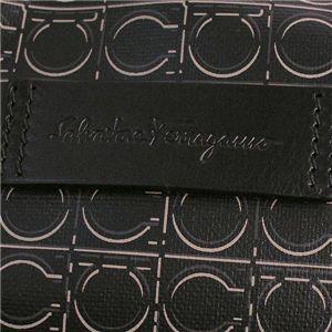 03フェラガモ/Ferragamo トートバッグ GRANT 248753 428659/ブラック