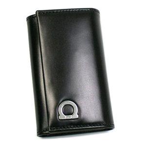 商品画像フェラガモ/Ferragamo キーケース GANCIO ONE 668680 428300/ブラック