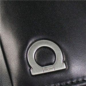 02フェラガモ/Ferragamo キーケース GANCIO ONE 668680 428300/ブラック