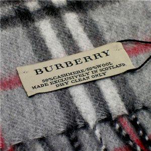 01バーバリー/Burberry マフラー 94267 540/グレー