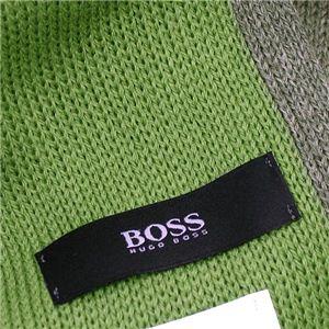 HUGO BOSS(ヒューゴボス) マフラー 50162126 MF FAON MUFFLER 317 グリーン