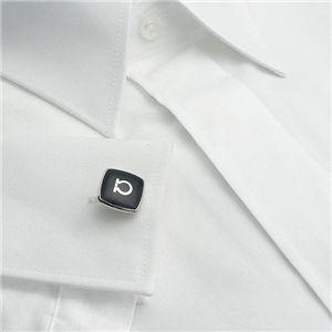 01フェラガモ/Ferragamo カフス 548010 GEM DOUCE 4/ブラック