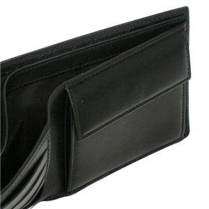 Christian Dior(クリスチャン ディオール) 二つ折り財布(小銭入れ付) DIOR METROPOLE 2DIBC001DIO 900 ブラック
