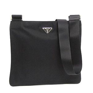 Prada(プラダ) ナナメガケバッグ TESS SAFFIANO VA0053 F0002 ブラック