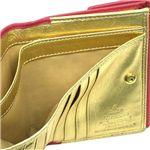 Vivienne Westwood(ヴィヴィアンウエストウッド) Wホック財布 NAPPA 737 ピンク/ゴールド