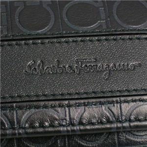 Ferragamo(フェラガモ) キーケース GAMMA 668729 433510 ブラック