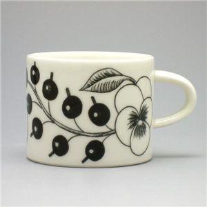 ARABIA(アラビア) カップ ブラックパラティッシュ 066747 CUP COFFEE 18CL PARATIISI ブラック