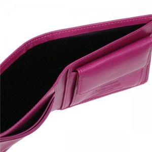 Vivienne Westwood(ヴィヴィアンウエストウッド) 二つ折り財布(小銭入れ付) NAPPA 730V  ピンク H10.5×W11×D2.5