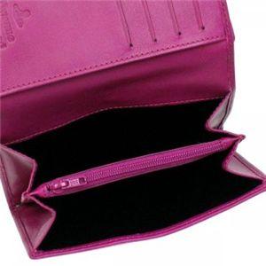 Vivienne Westwood(ヴィヴィアンウエストウッド) 二つ折り財布(小銭入れ付) NAPPA 746V  ピンク H9.5×W13.5×D2.5
