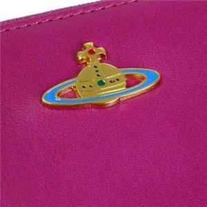 Vivienne Westwood(ヴィヴィアンウエストウッド) 長財布 NAPPA 5140V  ピンク H10×W19×D2.5