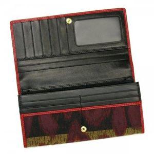 Vivienne Westwood(ヴィヴィアンウエストウッド) 長財布 LEOPARD 1032V レッド/ブラウン H9.5×W19×D2.5