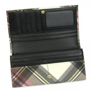 Vivienne Westwood(ヴィヴィアンウエストウッド) 長財布 DERBY 1032V EXHIBITION H9.5×W19×D2.5