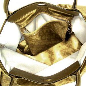 Gherardini(ゲラルディーニ) トートバッグ SOFTY BASICO 2224 2555 ゴールド (H26×W31×D10)