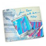 DIESEL(ディーゼル) 二つ折り財布(小銭入れ付) MONEY-MONEY X00372 H3346 ブルー